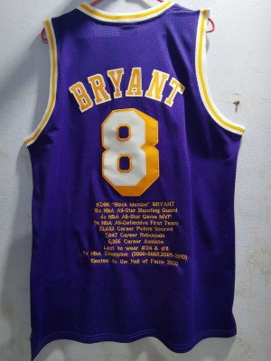 Lakers BRYANT 8