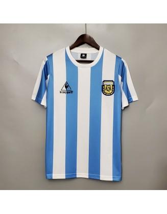 Argentina Home Jerseys 1986