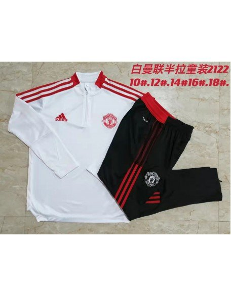 Manchester United Tracksuit 2021-2022 Kids