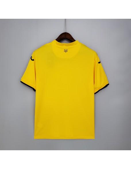 2021/2022 Villarreal Home Football Shirt