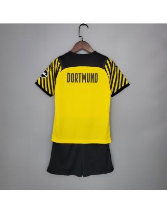 Borussia Dortmund Home Jersey 21/22 For Kids