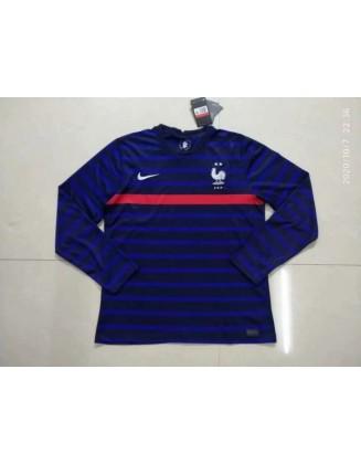 France Home Jerseys 2021 Long sleeve