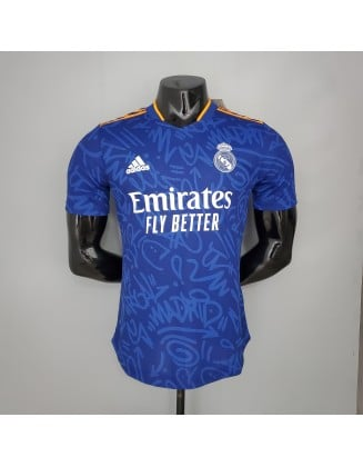 Real Madrid Away Jersey 2021/2022 Player