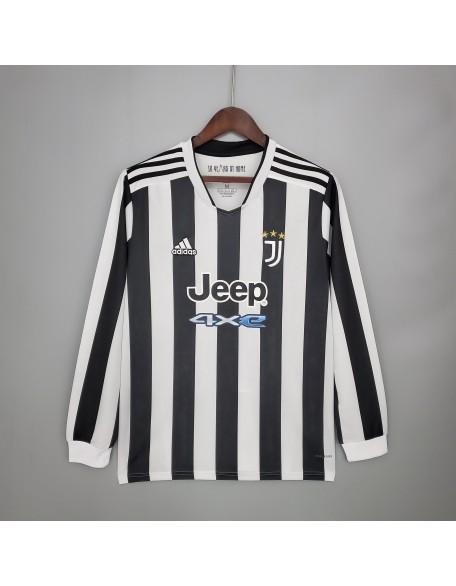 Juventus Home Jersey 2021/2022 Long sleeve