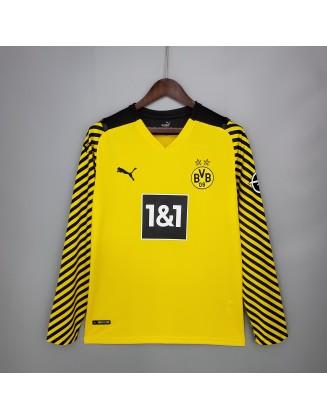 Borussia Dortmund Home Jersey 2021/2022 Long sleeve