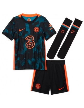 Chelsea Second Away Shirt 2021-2022 For Kids