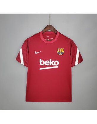 21/22 Barcelona Training Suit Red