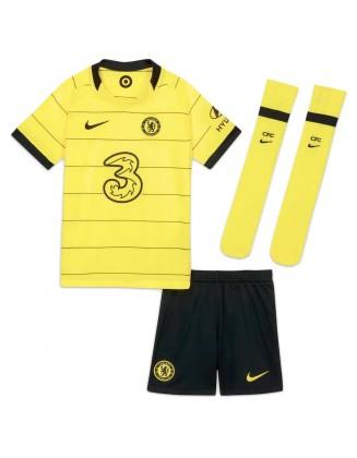 Chelsea Away Shirt 2021-2022 For Kids