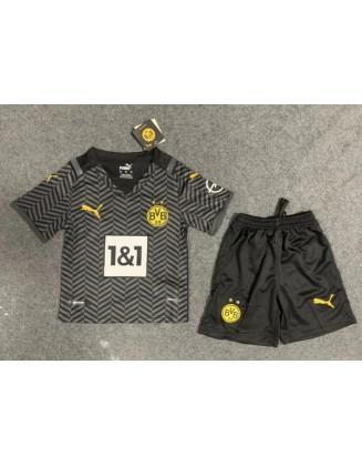 Borussia Dortmund Away Jersey 21/22 For Kids