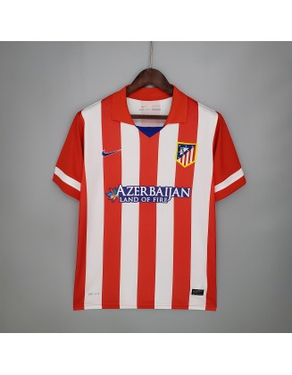 Atletico Madrid Home Jersey 13/14 Retro