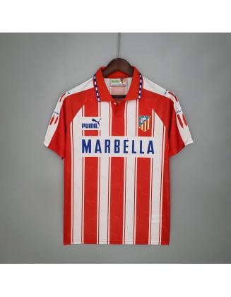 Atletico Madrid Home Jersey 94/95 Retro
