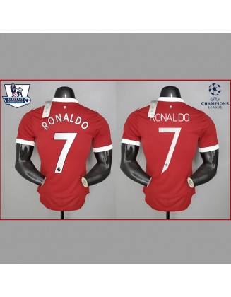 Manchester United Home Jersey 2021/2022 player version