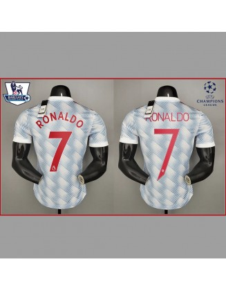 Manchester United Away Jersey 2021/2022 Player Version