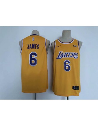 James #6 Lakers 2021