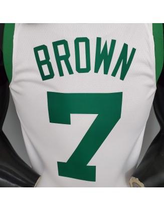 BROWN#7 75th Anniversary Celtics
