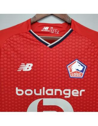 2021/2022 Lille Home Football Shirt
