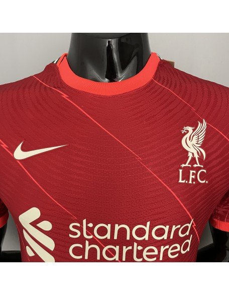 Liverpool Home Jersey 2021/2022 player version