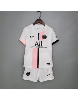 Paris Saint Germain Away Jerseys 2021/2022 For Kids