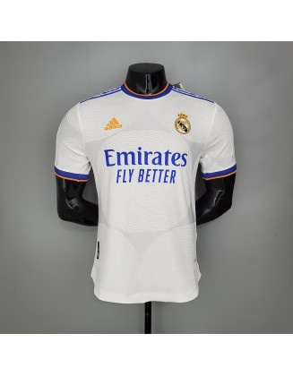 Real Madrid Home Jersey 2021/2022 Player Version