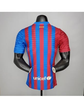 Barcelona Home Jersey 2021/2022 Player
