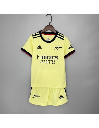 2021-2022 Arsenal Away Jersey For Kids