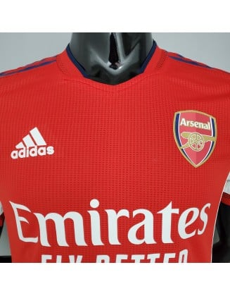 2021-2022 Arsenal Home Football Jersey Player