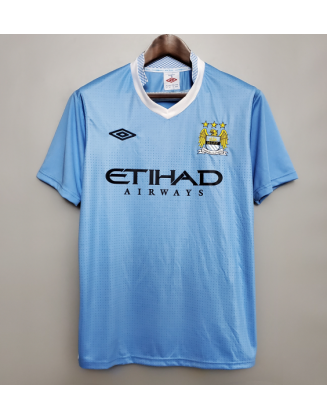Manchester City Home Jersey 11/12 Retro