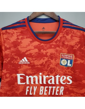Olympique Lyon Away Jerseys 2021/2022