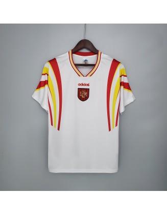 Spain Away Jerseys 1996 Retro