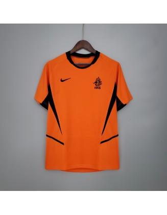 Netherlands Home Jerseys 2002 Retro