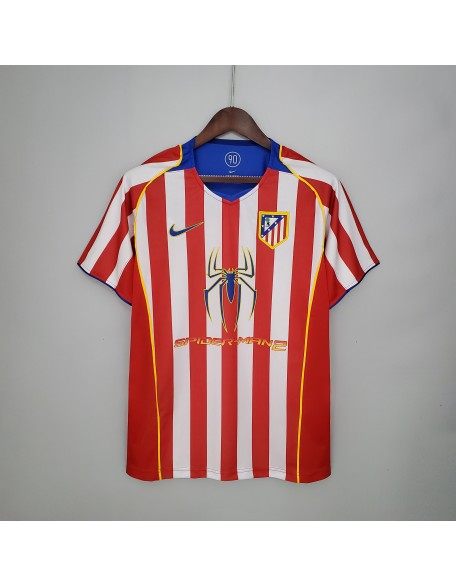 Atletico Madrid Home Jersey 04/05 Retro