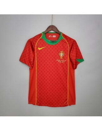 Portugal Home Jerseys 2004 Retro