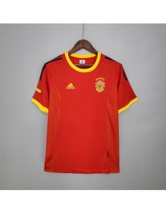 Spain Home Jerseys 2002 Retro