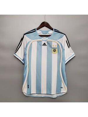 Maillot Argentina Domicile 2006 Retro
