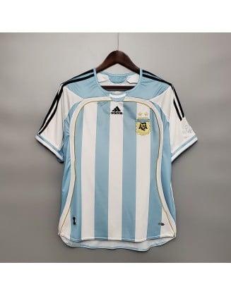 Argentina Home Jerseys 2006 Retro