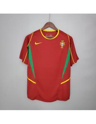 Portugal Home Jerseys 2002 Retro