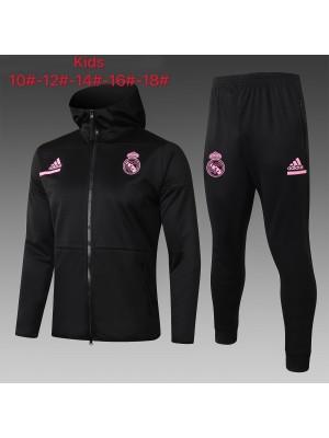Sweat à capuche + Pantalon Real Madrid 2020/2021 Pour Enfants
