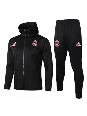 Sweats à capuche + pantalons Real Madrid 2020/2021