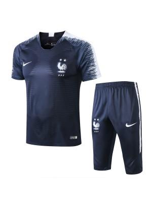 Camiseta Del Francia 2018 Azul Conjunto