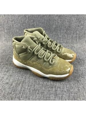 "Air Jordan 11 ""Olive Lux"" - 003"