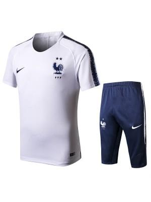 Camiseta Del Francia 2018 Blanco Conjunto